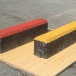 カラーゴムチップ砂場枠ブロック